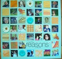 so many reasons    noexcusescrapbooking.com
