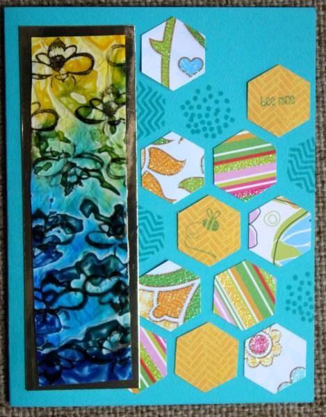 bee mine card || noexcusescrapbooking.com