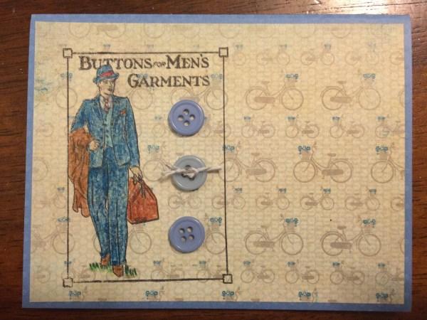 button man || noexcusescrapbooking.com