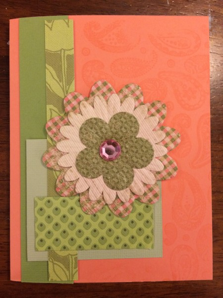 almost stampless card || noexcusescrapbooking.com