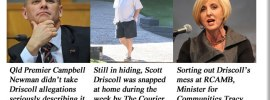Will Driscoll be charged with lying to parliament?