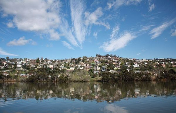 Launceston, Tamar River in Spring Time