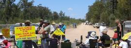 Who locks the gate in a state forest? by Pilliga reporter Iris Ray Nunn