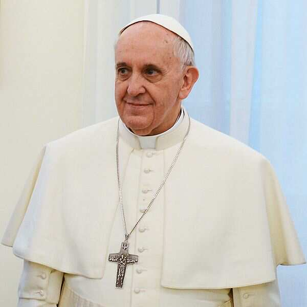 Pope Frances (Photo courtesy Casa Rosada)