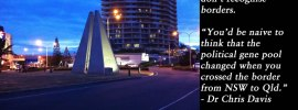 NSW-Qld Border monument, Coolangatta
