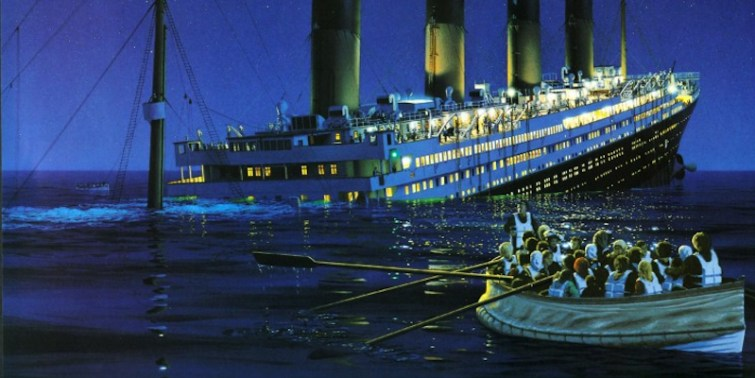 The sinking of the Titanic, a metaphor for the mainstream media?