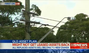Newman Government admits some assets may have to be bought back from an asset leasing plan.