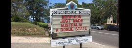 When has the suspension of the rule of law ever been a win for humanity? asks Fr Rod Bower @FrBower