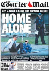 22/01/15 The Courier Mail  - What A Bird Brain