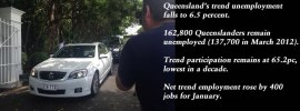 January 2015 Qld trend unemployment falls to 6.5pc, #qldpol #qldvotes: @Qldaah