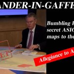 "#CommanderInGaffe – PM bumbles his way through ""Allegiance to Australia"" bill: @Qldaah #auspol"