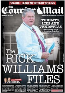 The Courier Mail - The Rick Williams Files - 3 June 2015