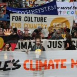 Melbourne #peoplesclimate march draws 60,000 people reports @takvera #COP21