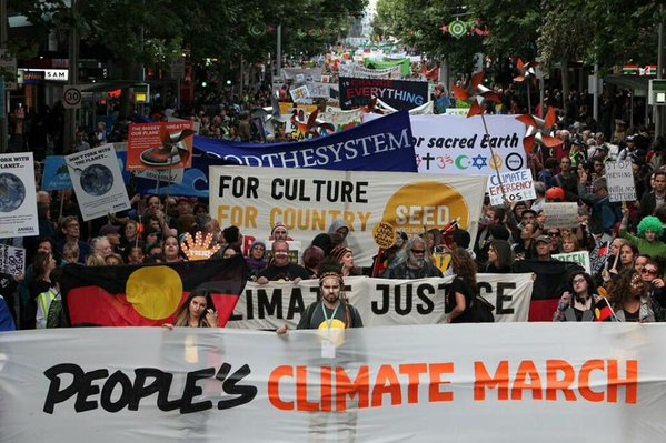 Photo: Peoples Climate  Australia/twitter