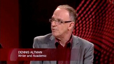 Academic and LGBTI activist Dennis Altman.