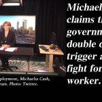'We will fight for the worker' – Michaelia Cash threatens double dissolution: @Qldaah #ausvotes #qldpol #auspol