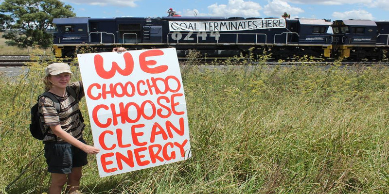We choose clean energy over coal. Photo: Frontline Action on Coal/Facebook