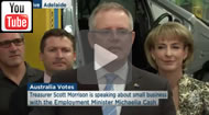 ABC News 24: 12 week work experience program: Scott Morrison & Michaelia Cash on PATH.