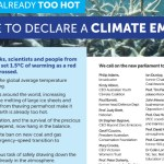 Eminent Australians open letter calls for climate emergency