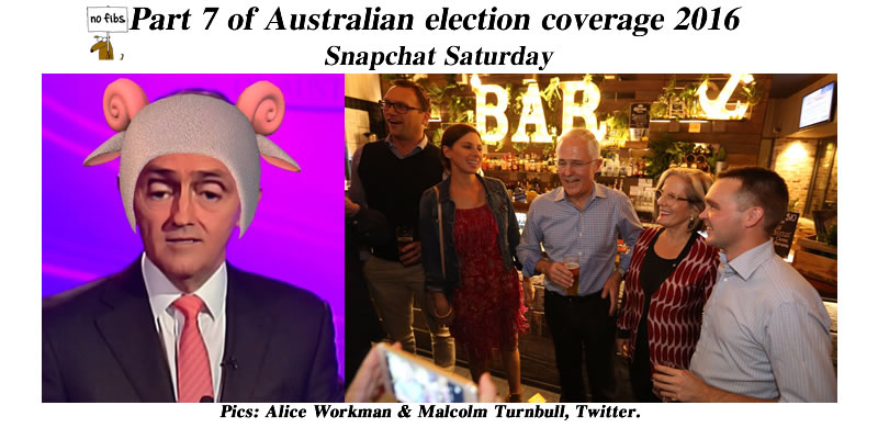 Part 7 of Australian election coverage 2016