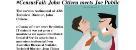 #CensusFail: John Citizen meets Joe Public – @Qldaah #auspol