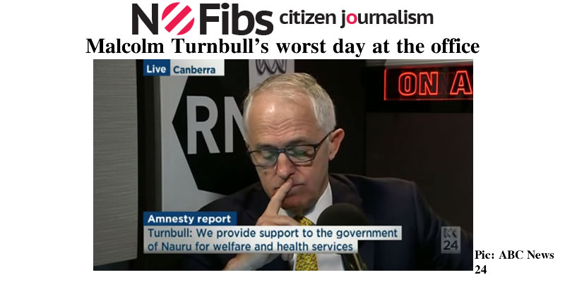 Malcolm Turnbull's worst day at the office – @Qldaah #auspol