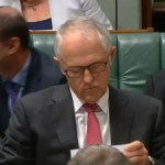 PM Turnbull ponders reply to Bandt question on coal, climate change and Cyclone Debbie