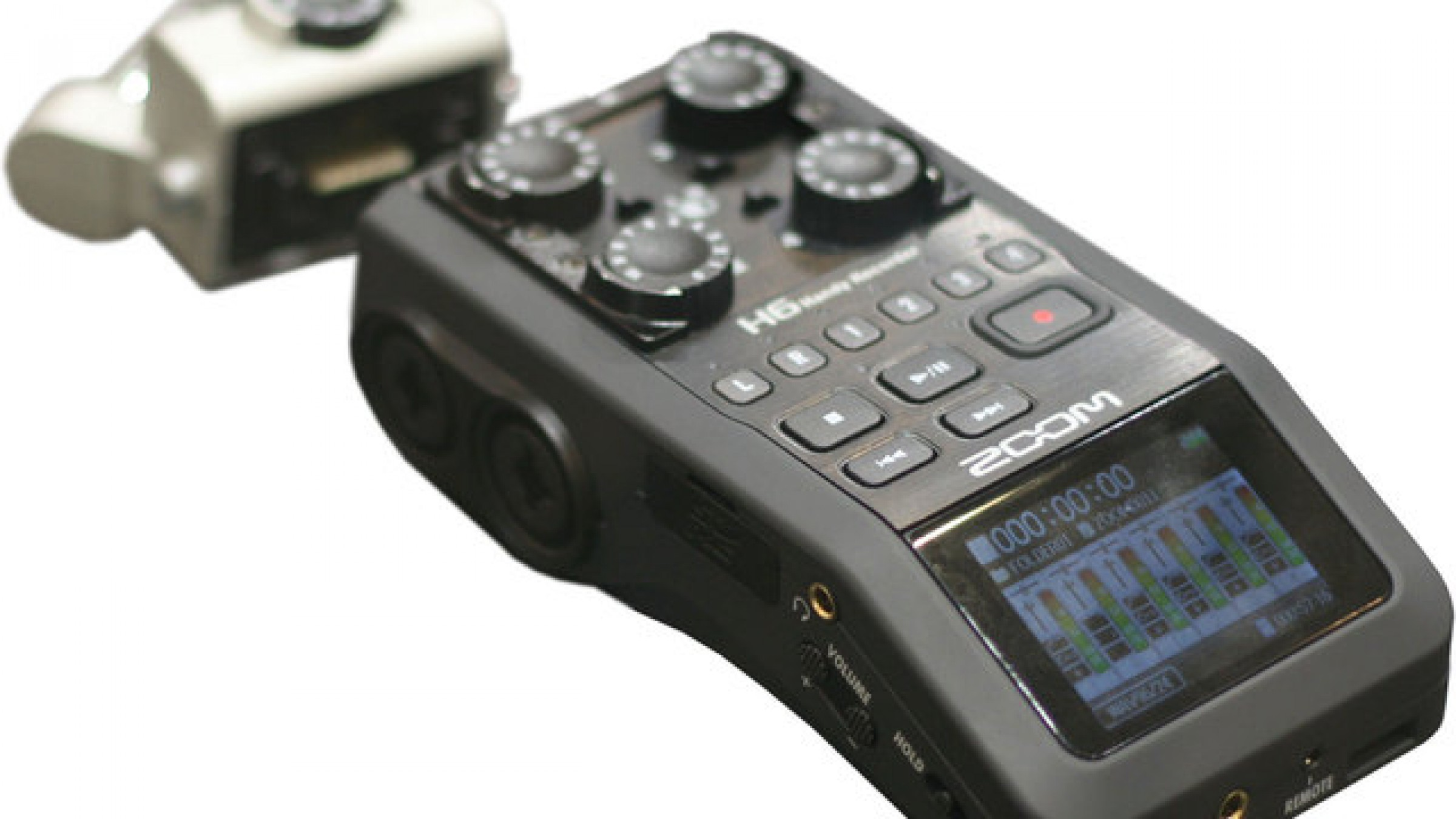 Zoom H6 Recorder Zoom Announces H6 Audio Recorder Modular Big Brother To The