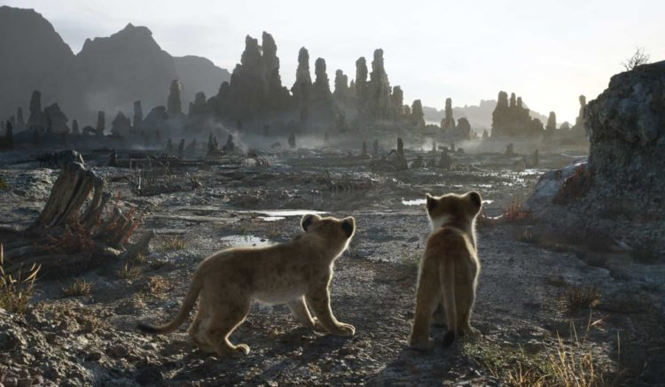 disney's the lion king movie date