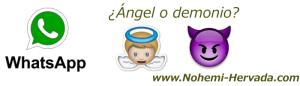 WHATSAPP ANGEL O DEMONIO