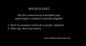 #NOALPLAGIO