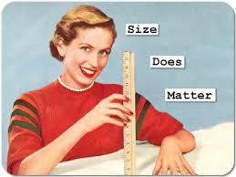 el tamaño importa