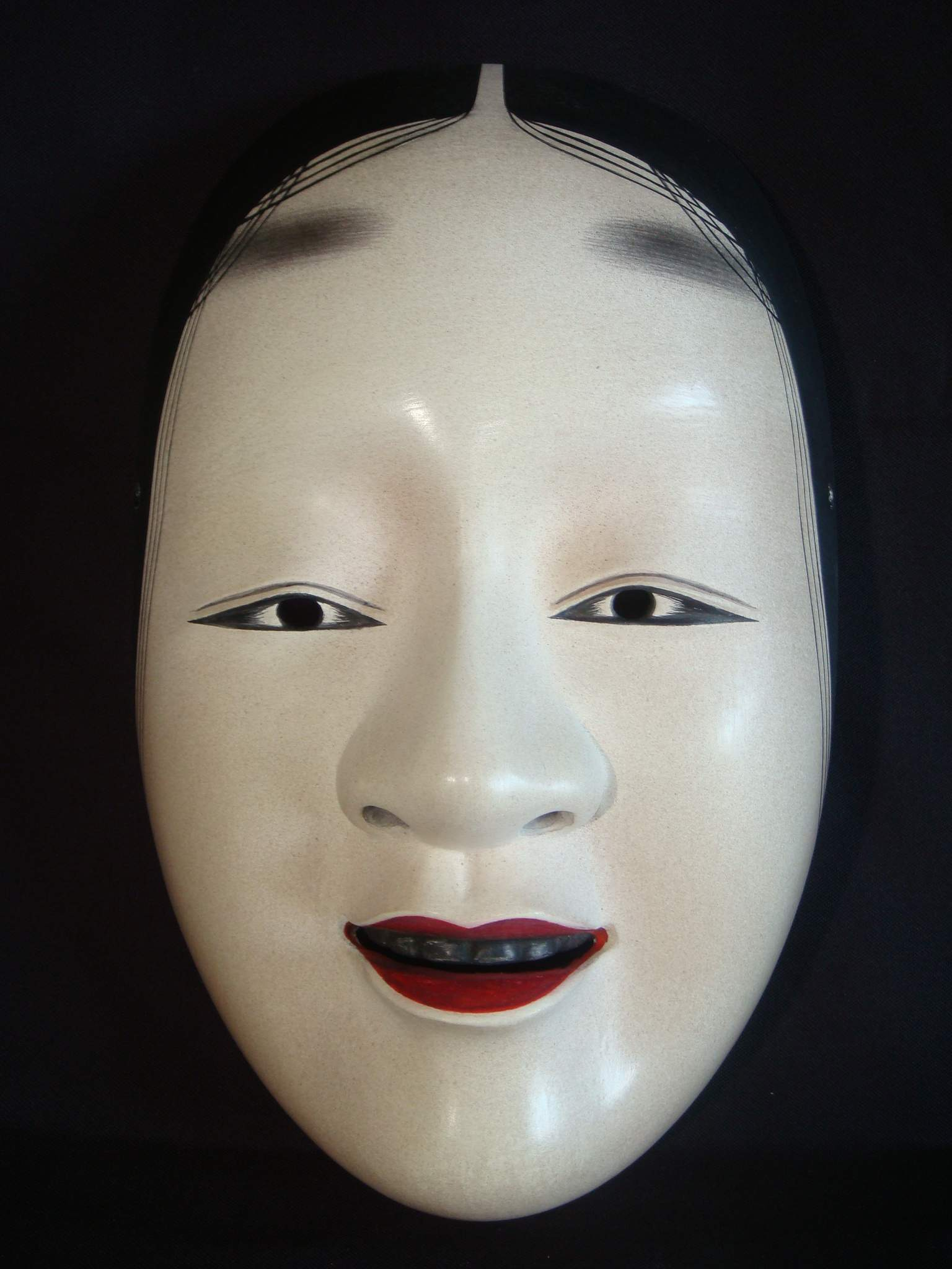 The Girl Next Door Wallpaper Noh Mask Oumionna