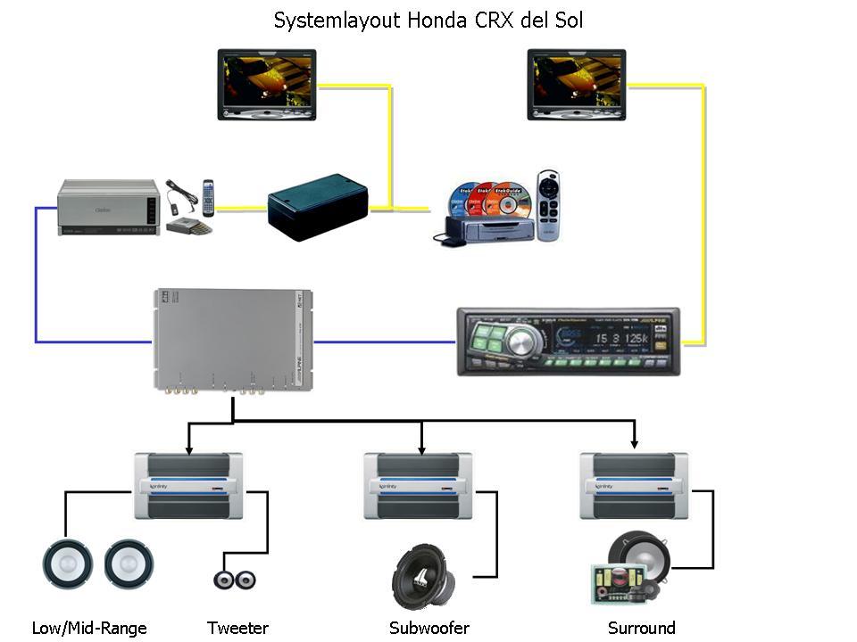 car tweeter speaker wiring diagram