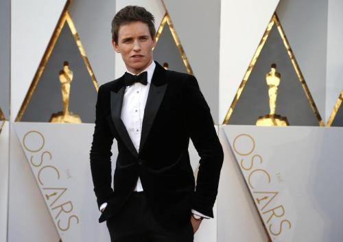 "Eddie Redmayne, nominated for Best Actor for his role in ""The Danish Girl,"" arrives. REUTERS/Lucy Nicholson"