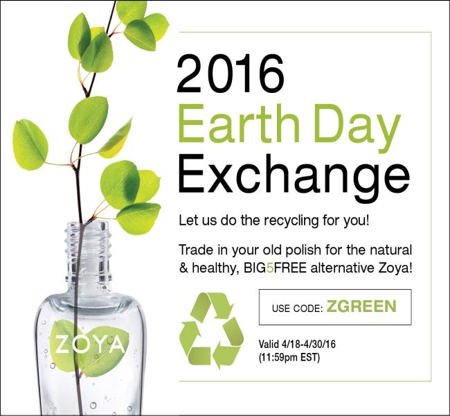 Zoya Earth Day Polish Exchange