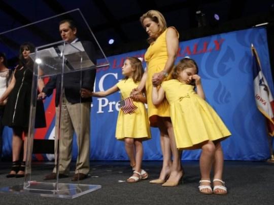 Ted Cruz Religious Rally
