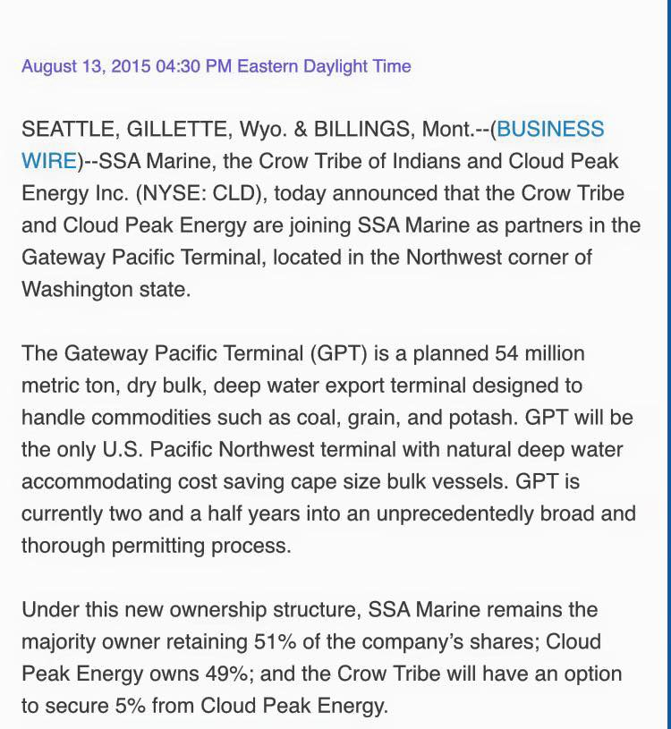 SSA Marine\u0027s new PR partnership / Facebook post, Sj Robson noisy