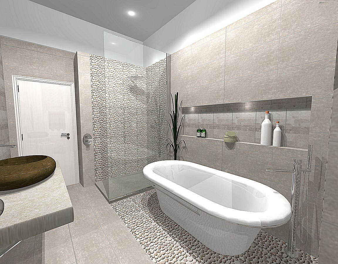 Porcelanosa Baños Drawing Boards Serenity And Relaxation In A Stone Home In Glasgow