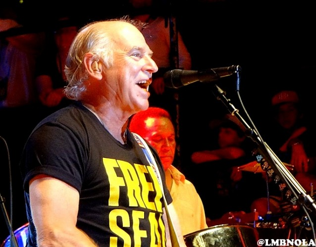 UPDATE: Jimmy Buffett Acoustic will Replace Eddie Vedder at Jazz Fest