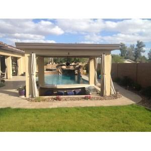 Grand Az Builders Building Backyard Furniture Building Backyard Backyard Space Creating A Ctional