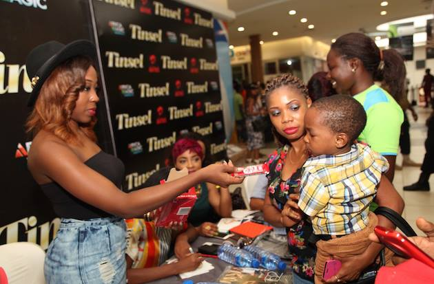 Tinsel stars meet fans in Lagos 4