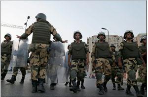 Egypt military coup morsi out