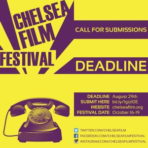 chelsea film festival 2014 call for submissions