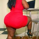 OMG! This Lady Thinks No Man Can Handle Her Monster B00ty…..[See PHOTO]