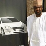 Nigerian actor and movie producer Kunle Afolayan acquires new ride