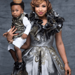 Tonto Dikeh and her son stun in new photos to celebrate his first birthday