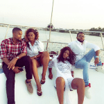 Photos from the birthday boat cruise of actress Ufedo Sunshine