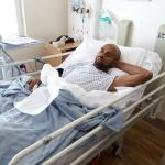 Actor Leo Mezie speaks from hospital bed in London, thanks Nollywood and Nigerians – (Pics and video)