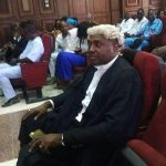 Photos: Nollywood actor and lawyer Kenneth Okonkwo at Abuja High court for Nnamdi Kanu's trial